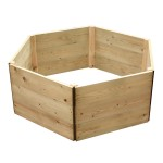 Hexagon Timber Raised Bed
