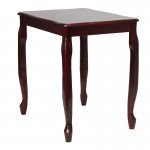 Large Queen Anne Style Occasional Table