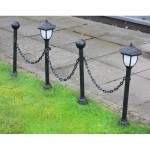 Chain Link Solar Lights